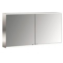 Emco Asis Prime 2 led 130cm spiegelkast opbouw aluminium Aluminium 949705147