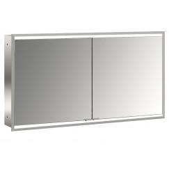 Emco Asis Prime 2 led 130cm spiegelkast inbouw aluminium Aluminium 949705157