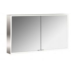 Emco Asis Prime led 120cm spiegelkast opbouw aluminium Aluminium 949705184