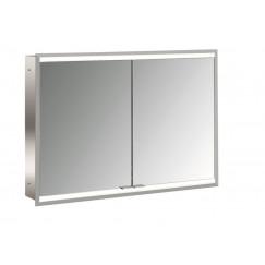 Emco Asis Prime 2 led 100cm spiegelkast inbouw aluminium Aluminium 949706155