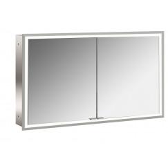 Emco Asis Prime led 120cm spiegelkast inbouw aluminium Aluminium 949706194