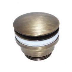 """De Beer  pop up plug 5/4""""x60mm brons Brons 431563001"""
