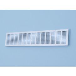 Gavo  ventilatiestrip 400x100mm wit ral 9010 Wit Ral9016