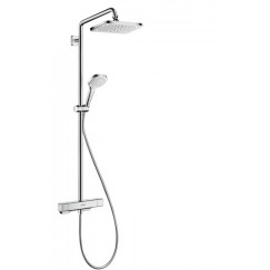 Hansgrohe Croma Select E 1jet showerpipe chroom Chroom 27630000