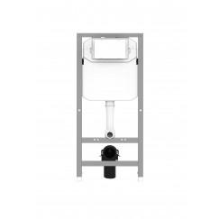 Novio Solo basic inbouw reservoir 12 cm. grijs Grijs