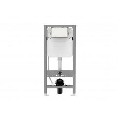 Novio Solo premium inbouw reservoir 12 cm. grijs Grijs