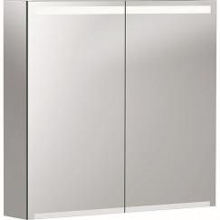 Geberit Option spiegelkast met verlichting 2 deuren 75x70x15cm  500.205.00.1