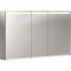 Geberit Option spiegelkast met verlichting 3 deuren 120x70x15cm  500.207.00.1