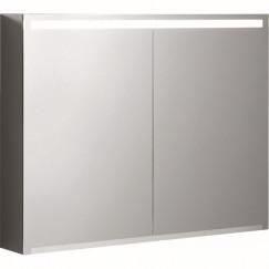 Geberit Option spiegelkast led verlichting 2 deuren 90x70x15cm  500.583.00.1