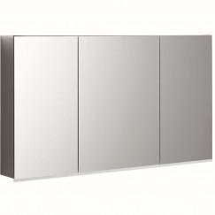 Geberit Option spiegelkast led verlichting 3 deuren 120x70x15cm  500.592.00.1
