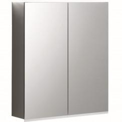 Geberit Option spiegelkast led verlichting 2 deuren 60x70x15cm  500.593.00.1