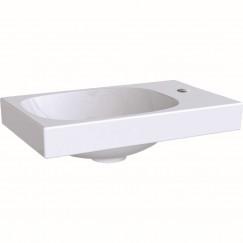 Geberit Acanto fontein 40cm kraangat rechts zonder overloop wit Wit 500.635.01.2