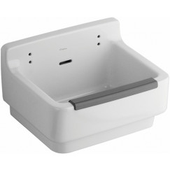 Geberit 300 Basic uitstortgootsteen 61x46cm wit Wit S8A00200000G