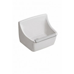Geberit 300 Basic uitstortgootsteen 45x35cm wit Wit S8A41000000G