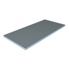 Wedi Bouwplaat element 2500x600x4 mm. Blauw 010250004