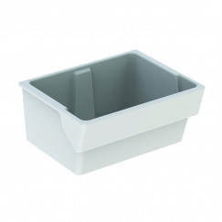 Geberit 300 Basic uitstortgootsteen 74x58,5cm wit Wit S8A00300000G
