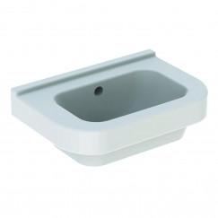 Geberit 300 Basic fontein 36cm zonder kraangat met overloop wit Wit S8400105000G