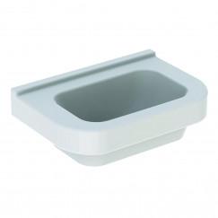 Geberit 300 Basic fontein 36cm zonder kraangat zonder overloop wit Wit S8400115000G