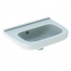 Geberit 300 Basic fontein 40cm zonder kraangat met overloop tect wit Wit S8400205001G