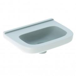 Geberit 300 Basic fontein 40cm zonder kraangat zonder overloop wit Wit S8400215000G