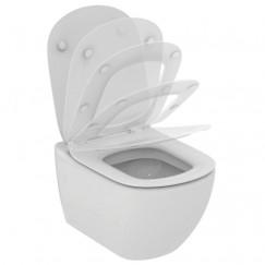 Ideal Standard Tesi wandcloset pack incl. zitting en deksel wit Wit T354101