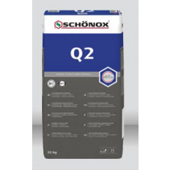 Schonox Q2 universele poederlijm zak 25kg Wit 487540