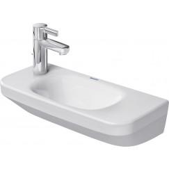 Duravit Durastyle fontein 500x120x220mm zo/kr.gat wondergliss wit Wit 07135000001