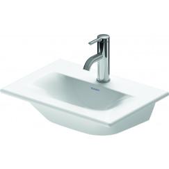 Duravit Viu fontein 450x320x135mm 1 kr.gat wit Wit 0733450041