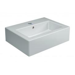 Duravit Vero fontein 450x160x350mm 1 krgt overl geslepen wit Wit 07044500271