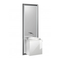 Emco Touch 450 badmeubelset deurgreep rechts zwart/optiwhite Zwart/optiwhite 955129300
