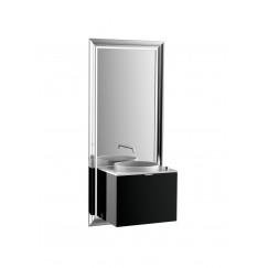 Emco Touch 600 badmeubelset schuiflade zwart/zwart Zwart/zwart 955329400
