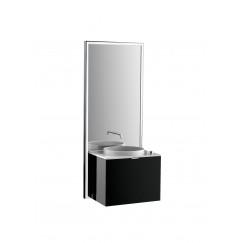 Emco Touch 600 badmeubelset schuiflade chroom/zwart Chroom/zwart 955527900