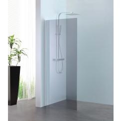 Novio Free Mix walk-in 90x200cm chroom-grijs clean Chroom Grijs