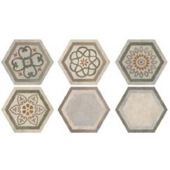 Hexagon Timeless Decor Culturemix 34,5x40