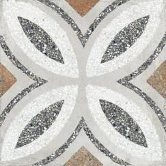 Terrazzo Casale Firenze grigio 25x25