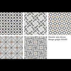 Terrazzo tegels Casale Borgo grigio 25x25 mix