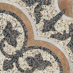 Terrazzo tegels Casale Siena cotto 25x25