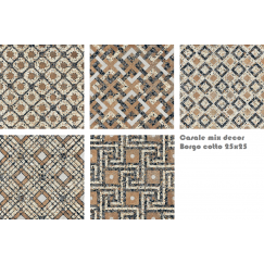 Terrazzo tegels Casale Borgo cotto 25x25 mix