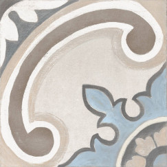Adobe Decor Gales Ivory 20x20