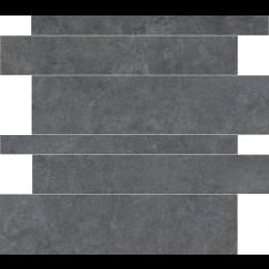 Tegelstroken Materia Antracite 5-10-15x60 cm rett