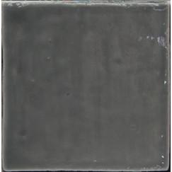 Zellige Handvorm Wandtegel Donker grijs 13x13