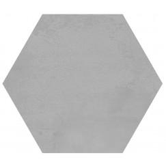 Hexagon Madelaine Grey 17,5x17,5