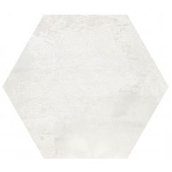 Hexagon Madelaine White 17,5x17,5