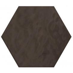 Hexagon Vodevil Antraciet 17,5x17,5