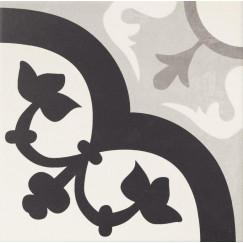 Hanoi Flower Grey 33,3x33,3