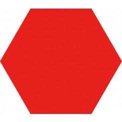 Opal Rojo Hexagon 28,5x33