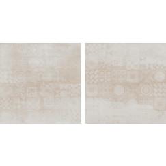 Concrete Avorio Decor 60x60