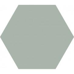 Hexagon Timeless Jade mat 15x17