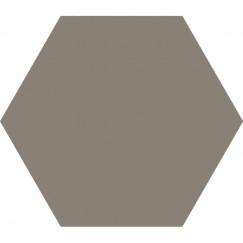 Hexagon Timeless Taupe mat 15x17