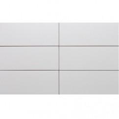 Wandtegels wit mat 20x50